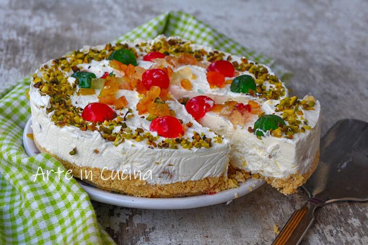 Cheesecake cassata gelato senza cottura