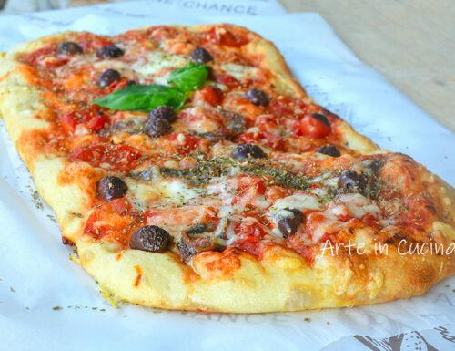 Tabisca siciliana pizza farcita veloce