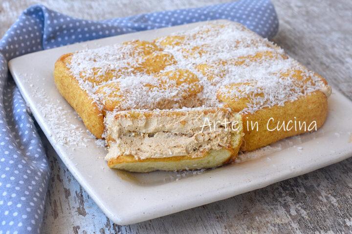 Torta gelato pavesini al tiramisù