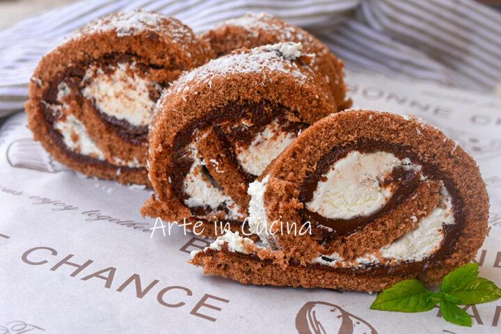 Girelle cocco e nutella veloci e facili, dolce perfetto per la merenda da fare in poco tempo con crema fredda facile.