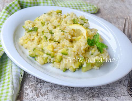 Risotto limone e zucchine anche bimby tm6