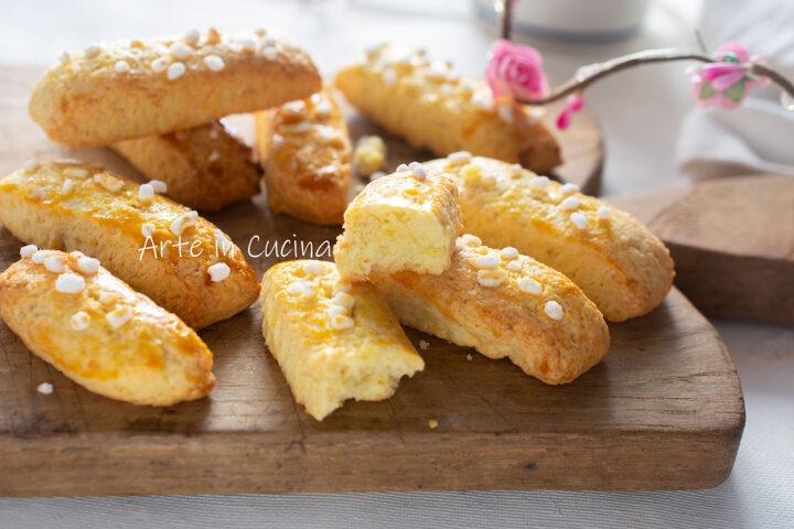 Biscottoni morbidi da inzuppo al limone