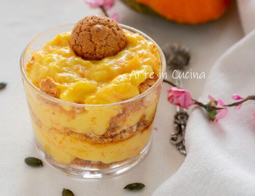 Crema pasticcera di zucca e amaretti