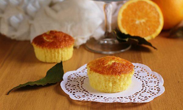 Orange Muffins morbidi e profumati