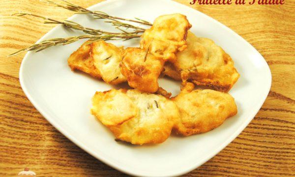 Frittelle di patate aromatiche e croccanti