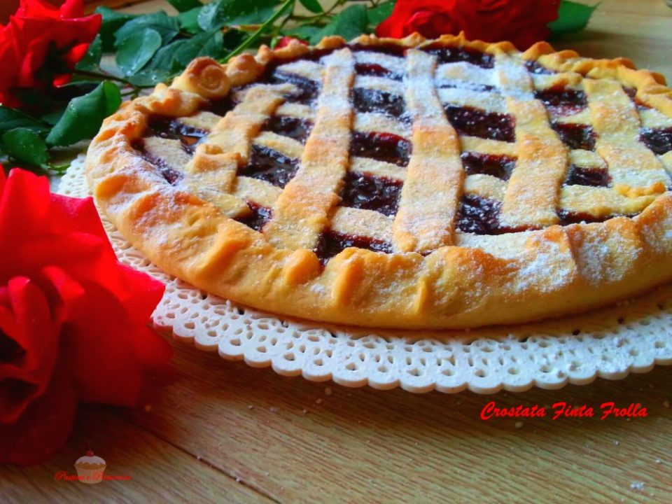 Crostata Finta Frolla - Pasticci e Pasticcini Blog