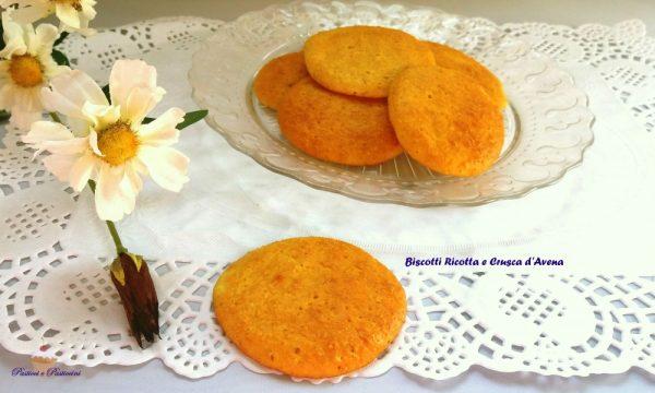 Biscotti Ricotta e Crusca di Avena Dukan