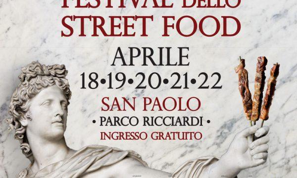 Il Festival dello Street Food a Roma dal 18 al 22 Aprile.