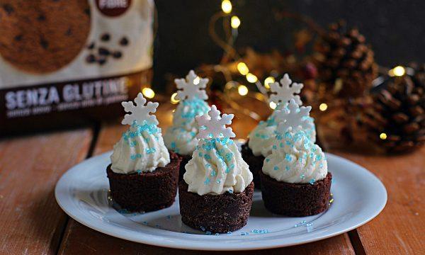 Alberi di Natale con Ciocco Dark Inglese senza glutine