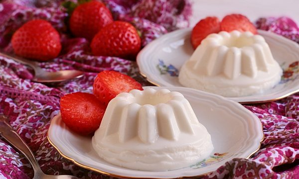 Panna cotta allo Yogurt Greco