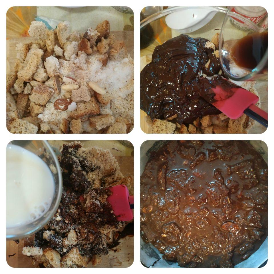 Preparazione Torta al Cioccolato con Fette Biscottate - Pasticci e Pasticcini di Viola Blog