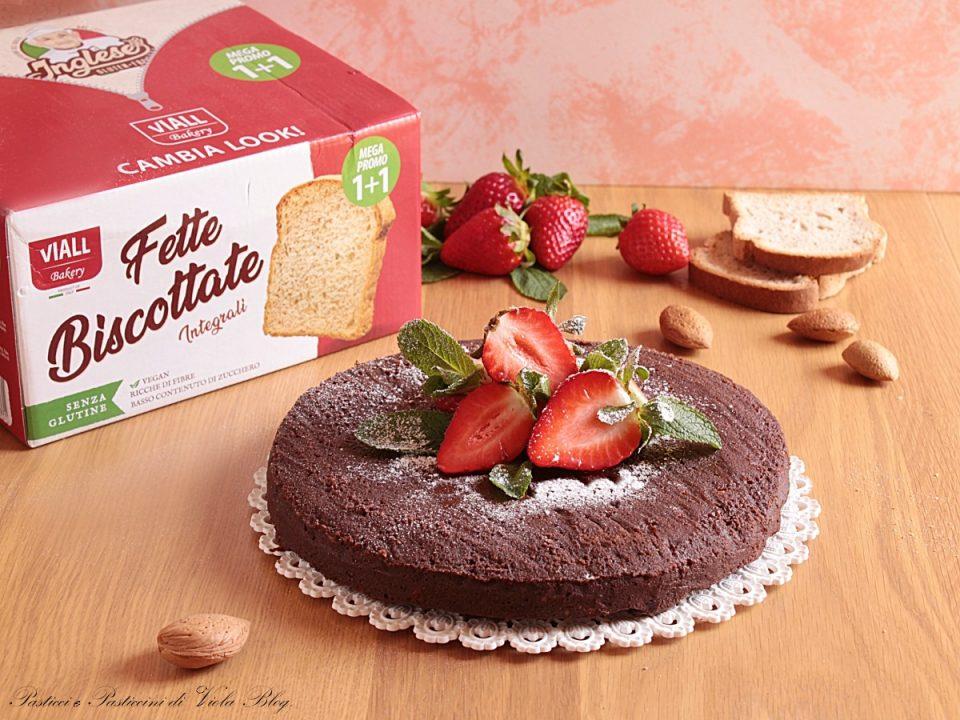 La Torta al Cioccolato con Fette Biscottate è un ottimo dessert - Pasticci e Pasticcini di Viola Blog