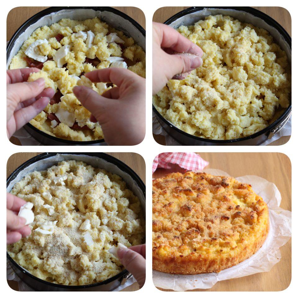 Procedimento per realizzare uno squisito tortino di patate al forno