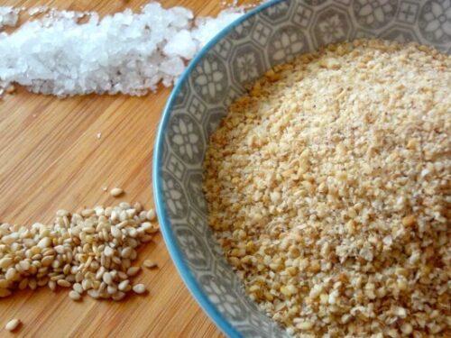 Gomasio homemade