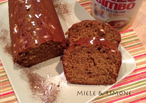 Plumcake all'Orzo Bimbo
