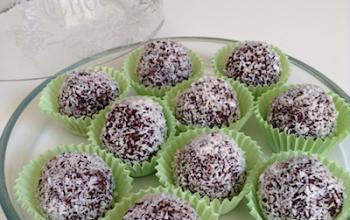 Palline cocco e cacao – ricetta facile e veloce