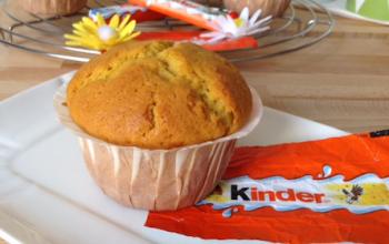 Muffin al cioccolato Kinder – ricetta facile e veloce