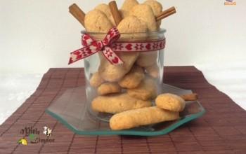 Biscotti croccanti alla cannella - ricetta senza burro