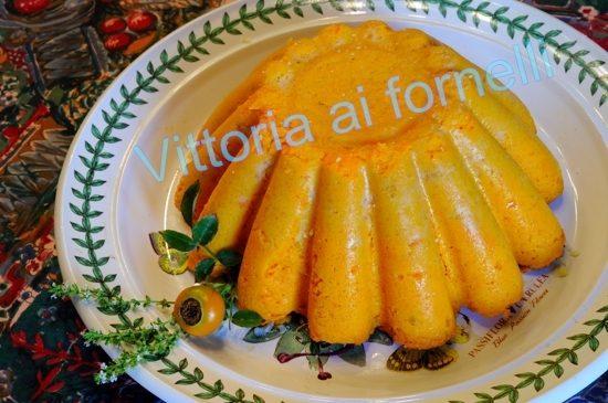Sformato di carote, gustoso piatto vegetariano