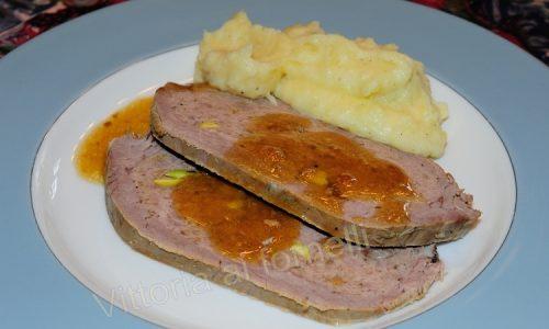 Cima ripiena arrosto, ricetta di carne