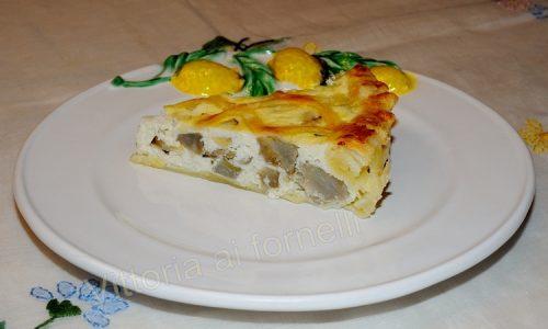 Crostata carciofi e ricotta, ricetta di torta salata