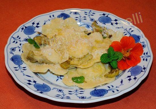 Ravioli ricotta e menta, ricetta tradizionale siciliana