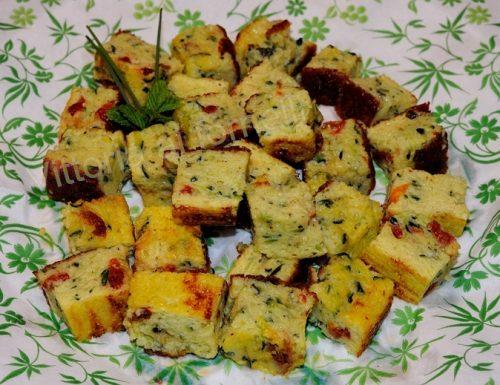 Zucchine a bocconcini, ricetta sfiziosa