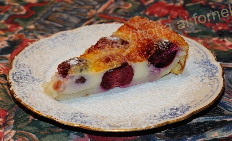 Clafoutis alle ciliegie, ricetta semplice e golosa