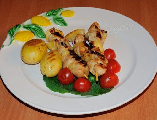 Spiedini di pollo Jamaica, ricetta sfiziosa