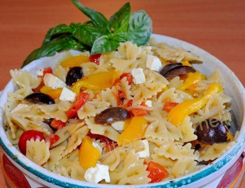 Pasta ai peperoni, ricetta mediterranea