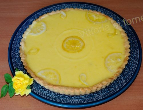Tarte au citron, ricetta dolce