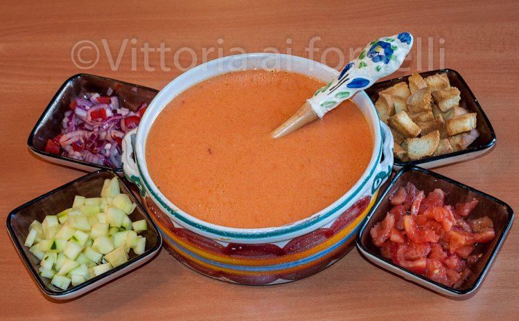 Gazpacho di casa mia, ricetta tradizionale spagnola