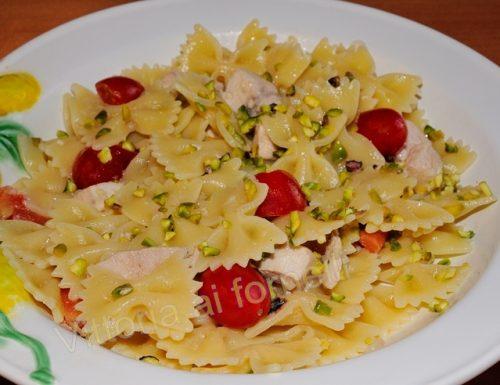 Pasta pesce spada e pistacchio, ricetta facile