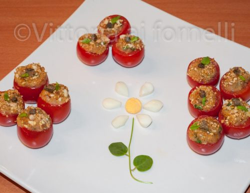 Pomodorini farciti, ricetta finger food