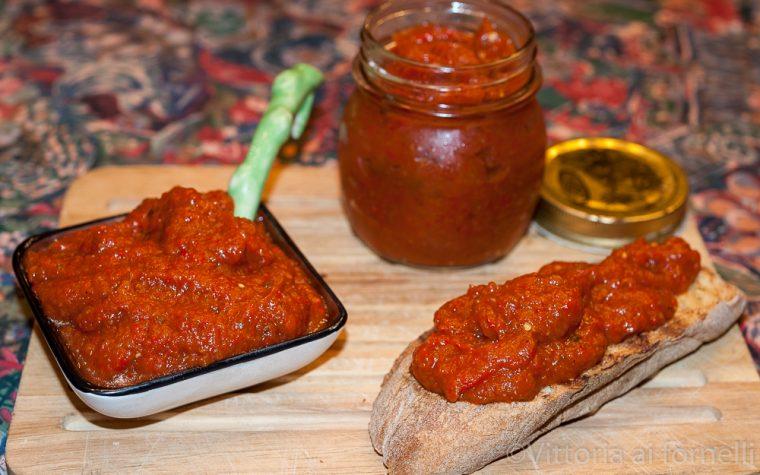 Caviale di peperoni, ricetta balcanica