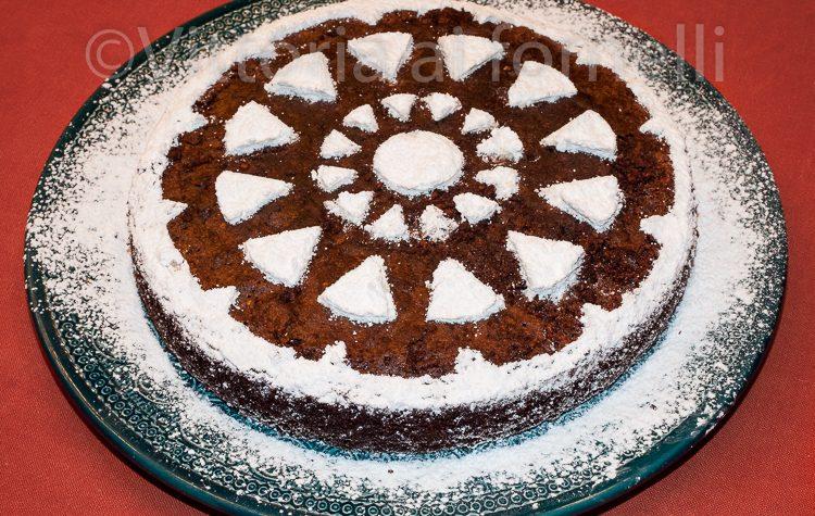 Caprese, torta cioccolato e mandorle