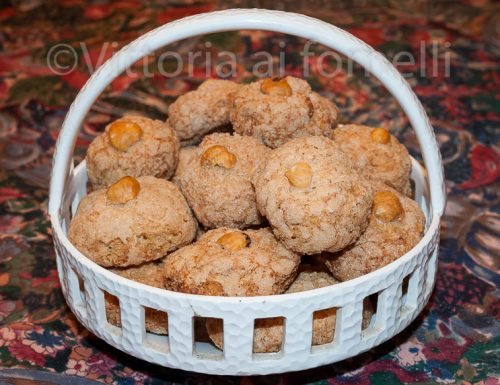 Biscotti alle nocciole, ricetta tradizionale