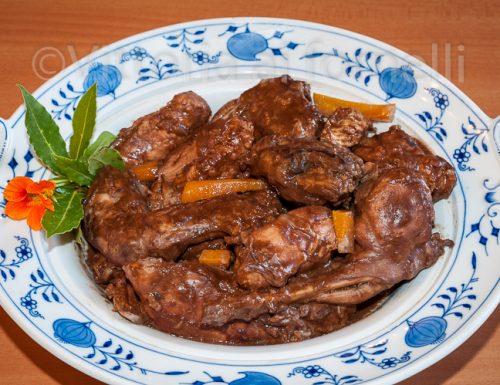 Coniglio al cioccolato, ricetta siciliana