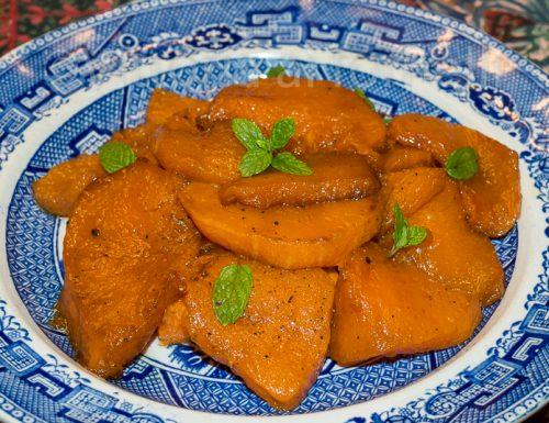 Zucca in agrodolce, ricetta siciliana