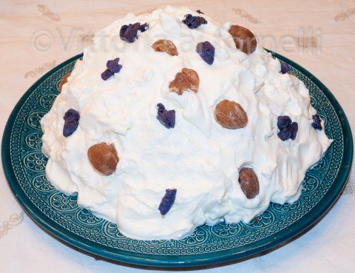 Monte bianco, dolce tradizionale