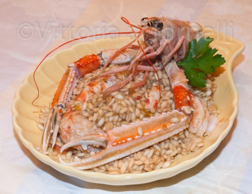 Risotto agli scampi, ricetta di mare