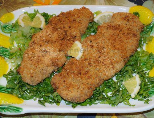 Cotolette di pollo, ricetta senza uova