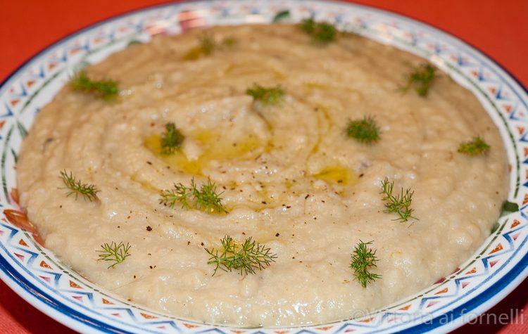 Macco di fave, ricetta tradizionale siciliana