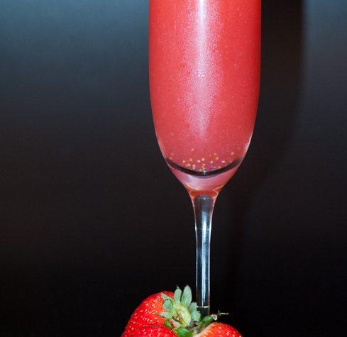 Cocktail Rossini, aperitivo primaverile