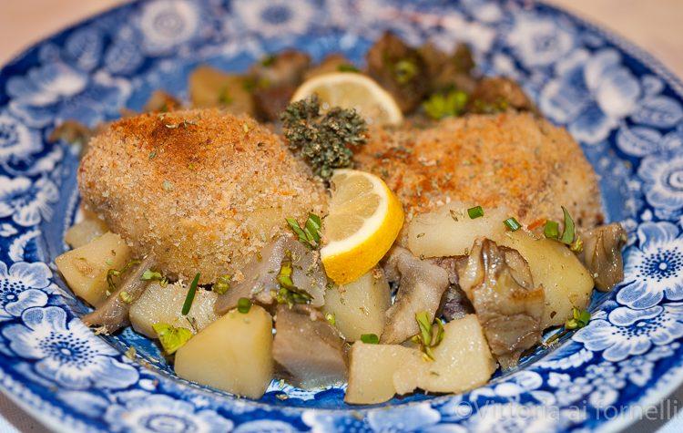 Cosce di pollo al gratin, ricetta siciliana