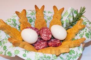 salatini con formaggio e rosmarino