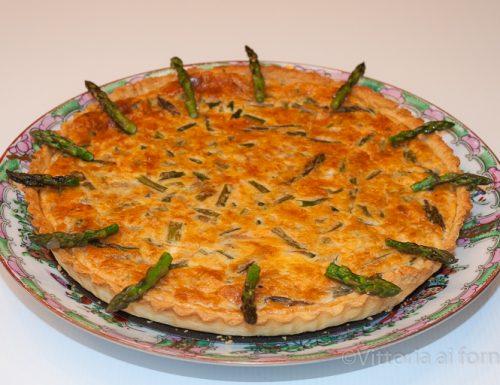 Quiche agli asparagi verdi, ricetta primaverile