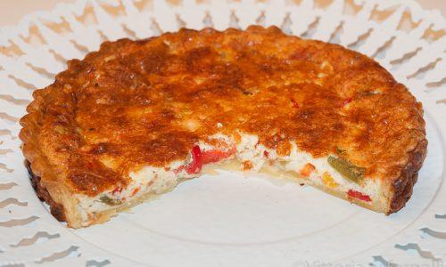 Quiche ai peperoni, ricetta facile e gustosa
