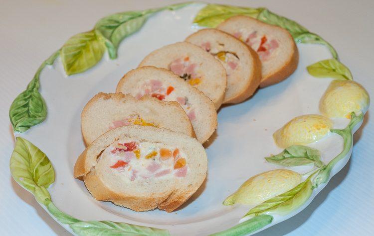 Baguette farcita, ricetta finger food