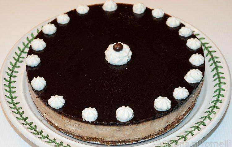 Cheesecake al caffè, dolce senza forno